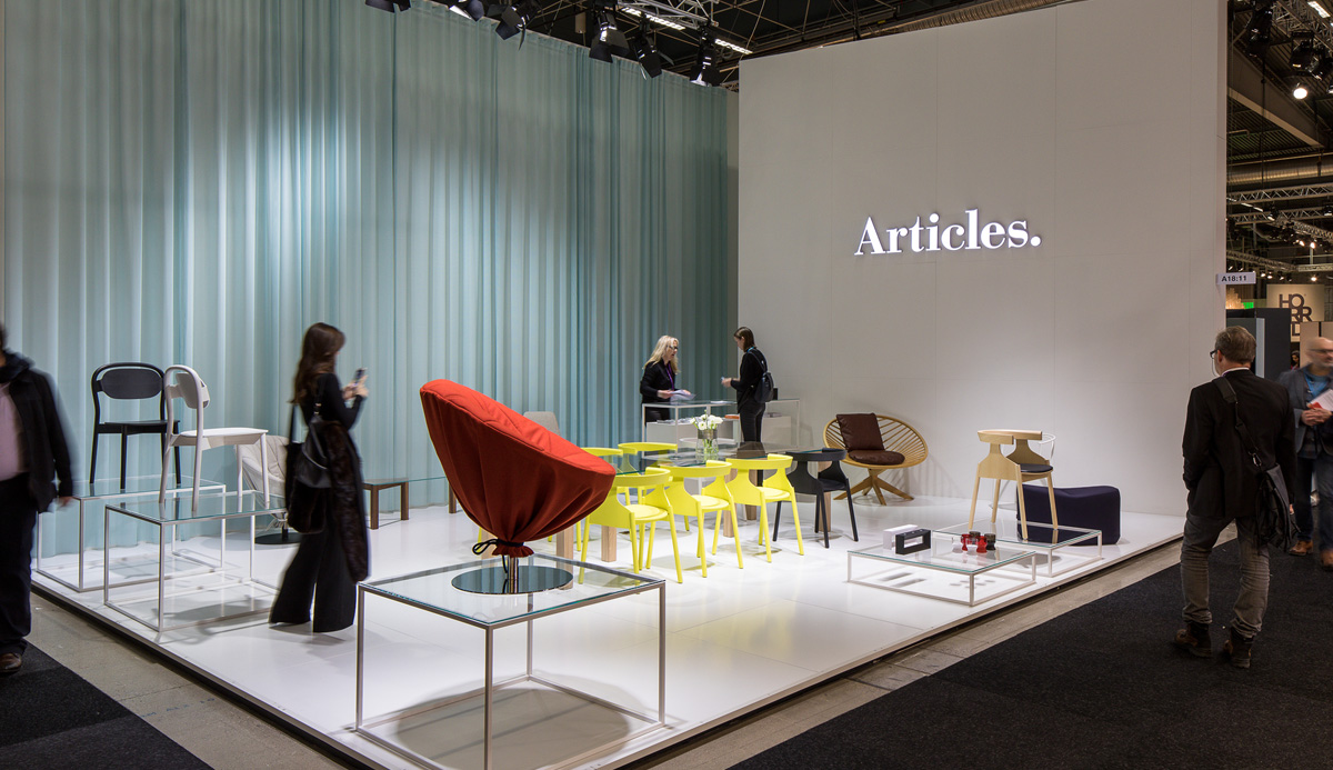 Articles at Stockholm Furniture Fair 2017