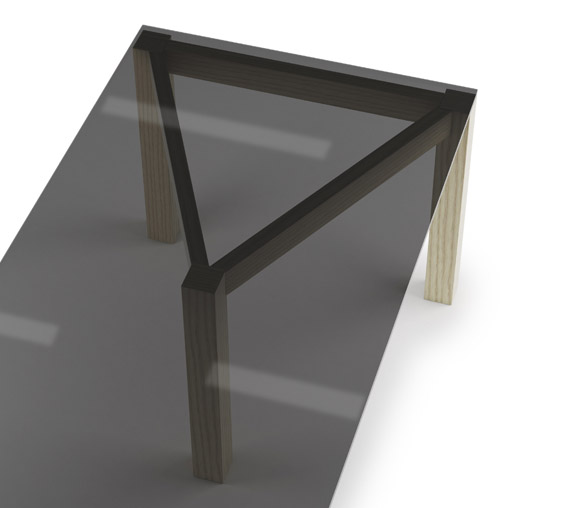 Winwin table by Articles. Design Björn Dahlström.